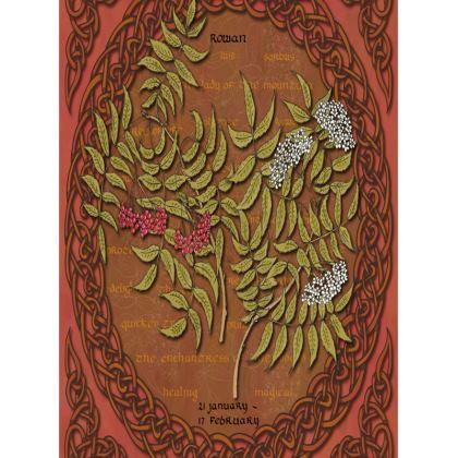 Tree Calendar Rowan Tray