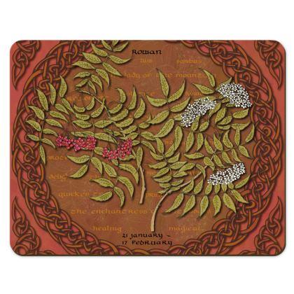 Tree Calendar Rowan Placemats