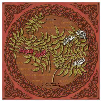 Tree Calendar Rowan Coaster Set