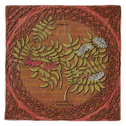 Tree Calendar Rowan Throw Blanket