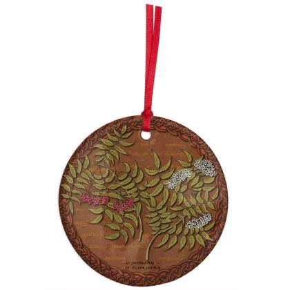 Tree Calendar Rowan Hanging Ornament