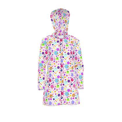 Atomic Collection Womens Hooded Rain Mac