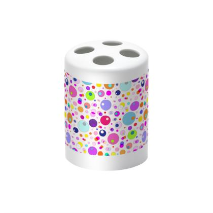Atomic Collection Toothbrush Holder
