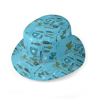 Modern Fish Bucket Hat