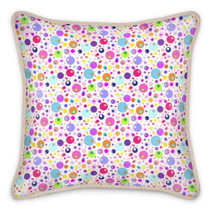 Atomic Collection Silk Cushions