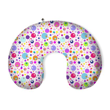 Atomic Collection Neck Pillow