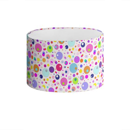 Atomic Collection Drum Lamp Shade