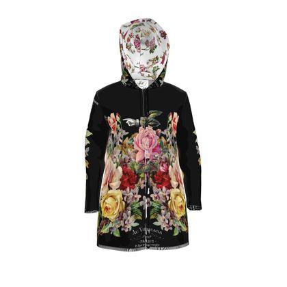 Women's Rain Mac Nuit des Roses for Her