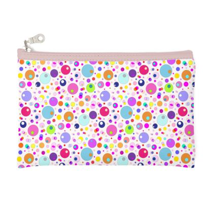 Atomic Collection Zip Top Pouch