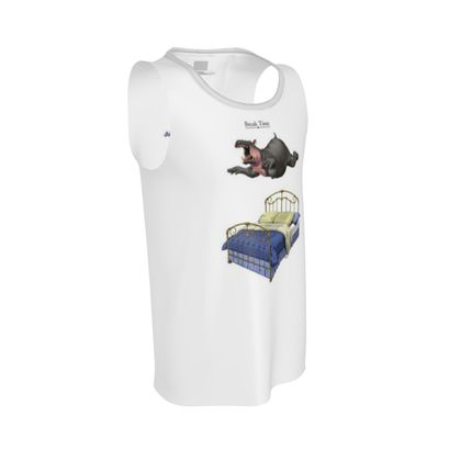 Break Time ~ Title Animal Behaviour Cut and Sew Vest