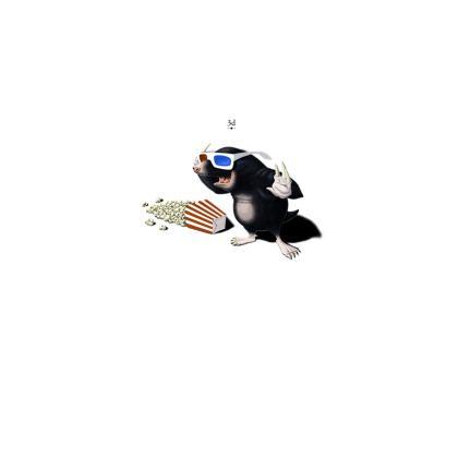 3D ~ Title Animal Behaviour Cut and Sew Vest