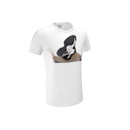 The Sneaker ~ Wordless Animal Behaviour Cut and Sew T Shirt