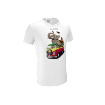 Pack the Trunk ~ Title Animal Behaviour Cut and Sew T Shirt