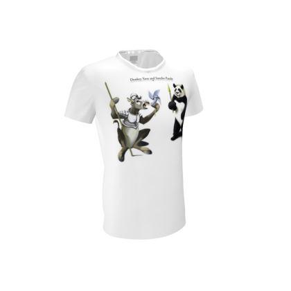 Donkey Xote and Sancho Panda ~ Title Animal Behaviour Cut and Sew T Shirt