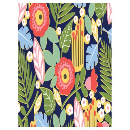 Paradise House Tropical Floral Small Tray