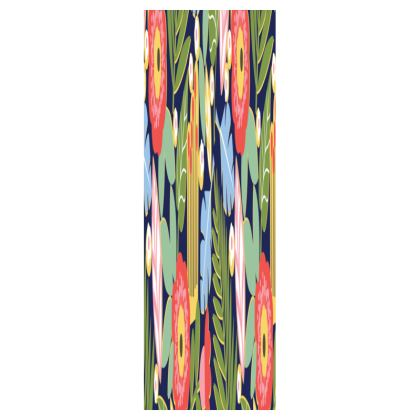 Paradise House Tropical Floral Slim Tray