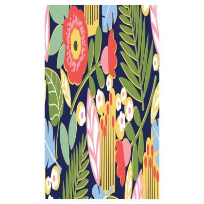 Paradise House Tropical Floral Desk Tidy Tray