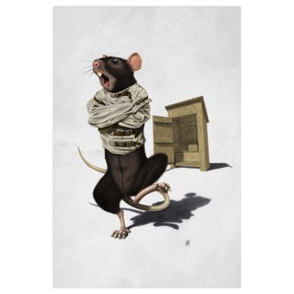 Shithouse ~ Wordless Animal Behaviour Art Print