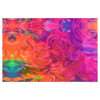 Velvet Roses Over-sized Clutch Bag