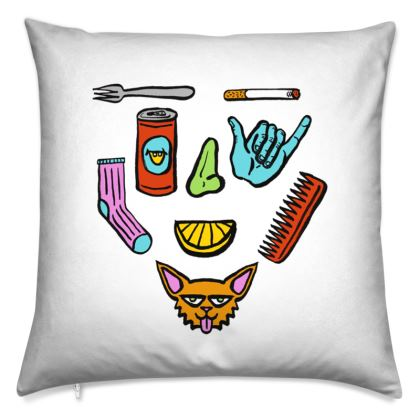 Stuff Face Cushion