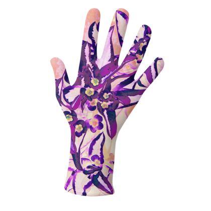 Gloves Marginata Purple
