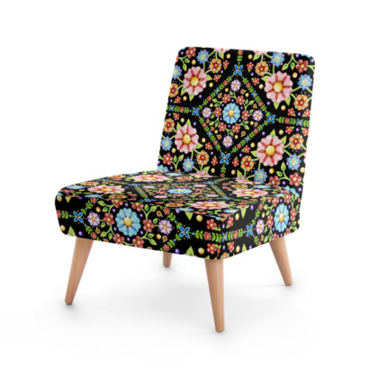 Millefiori Folkloric Occasional Chairs