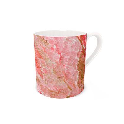 Flamingo Bone China Mug