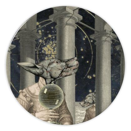 Peculiar Perspective China Plate