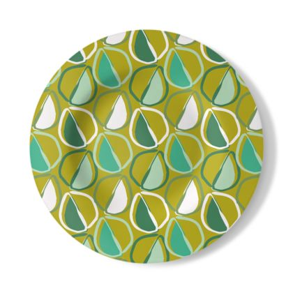 Geo Seed Decorative Plate