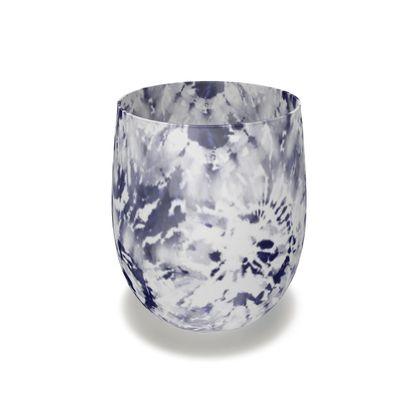 Indigo Tie-Dye Inks Series 01 Glass
