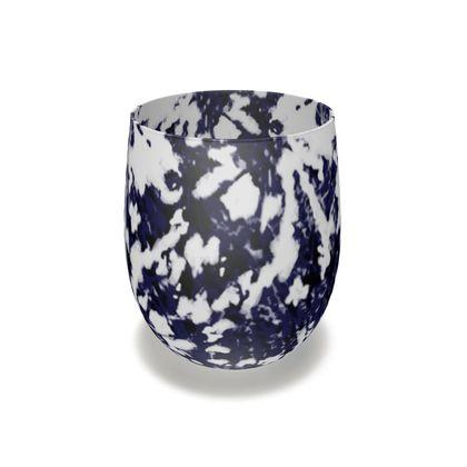 Indigo Tie-Dye Inks Series 02 Glass