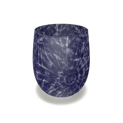 Indigo Tie-Dye Inks Series 04 Glass