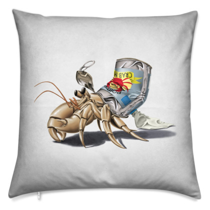 No Place Like Home ~ Wordless Animal Behaviour Cushion
