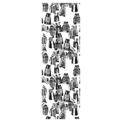Badger Print Deckchair