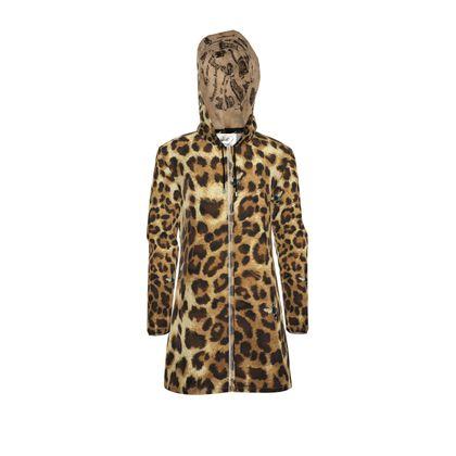 Rain Mac Buzz Leopard