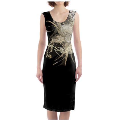 Bodycon dress - Fodralklänning - 50 shades of lace black one