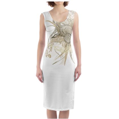 Bodycon dress - Fodralklänning - 50 shades of lace white one