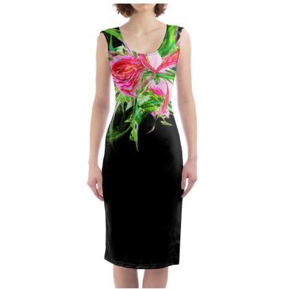 Bodycon dress - Fodralklänning - Pastells black