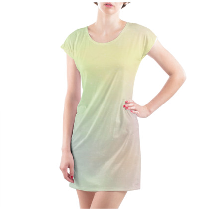 Lollygag Gradient Gazer Ladies T Shirt Dress