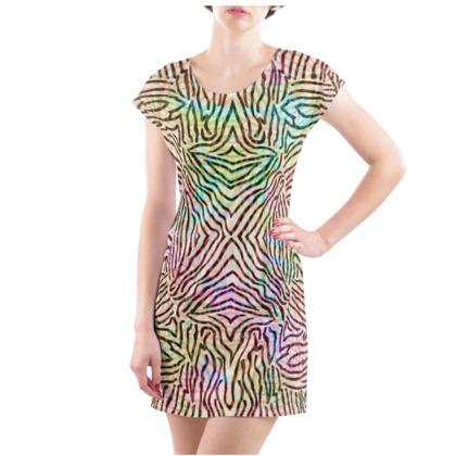 Galligaskins Good Vibes Ladies T Shirt Dress