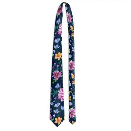 Tie, Beautiful Blooms Design