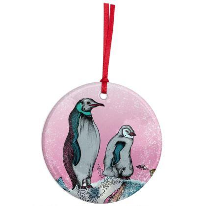 Christmas tree decoration - Penguins
