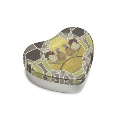 Two Turtle Doves Sweet Heart Tin