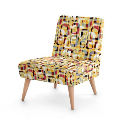 Fifties Geometry Occasional Chair
