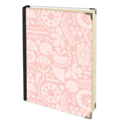 Eclectic Garden Pink Journal