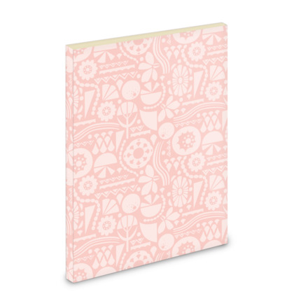 Eclectic Garden Pink A5 Pocket Note Book