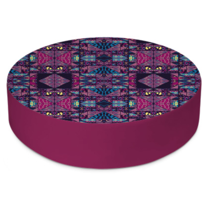 Nefarious Good Vibes Round Floor Cushion