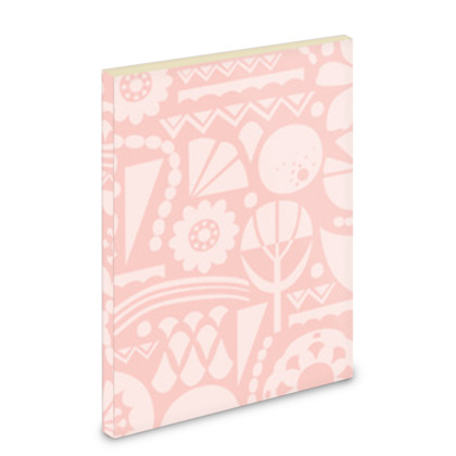 Eclectic Garden Pink A6 Pocket Note Book