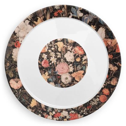 Victorian Floral Original party plates