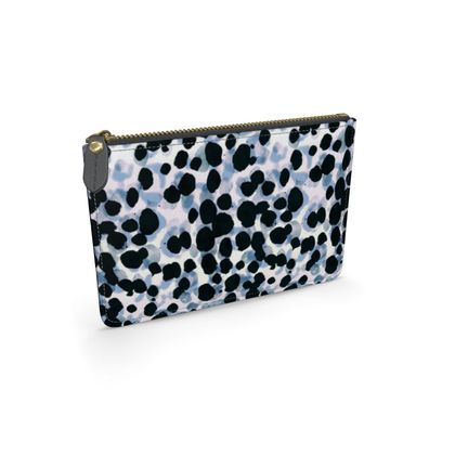 Painted dotted leopard print spots